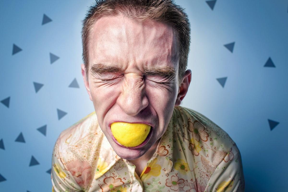 citroen zuur man
