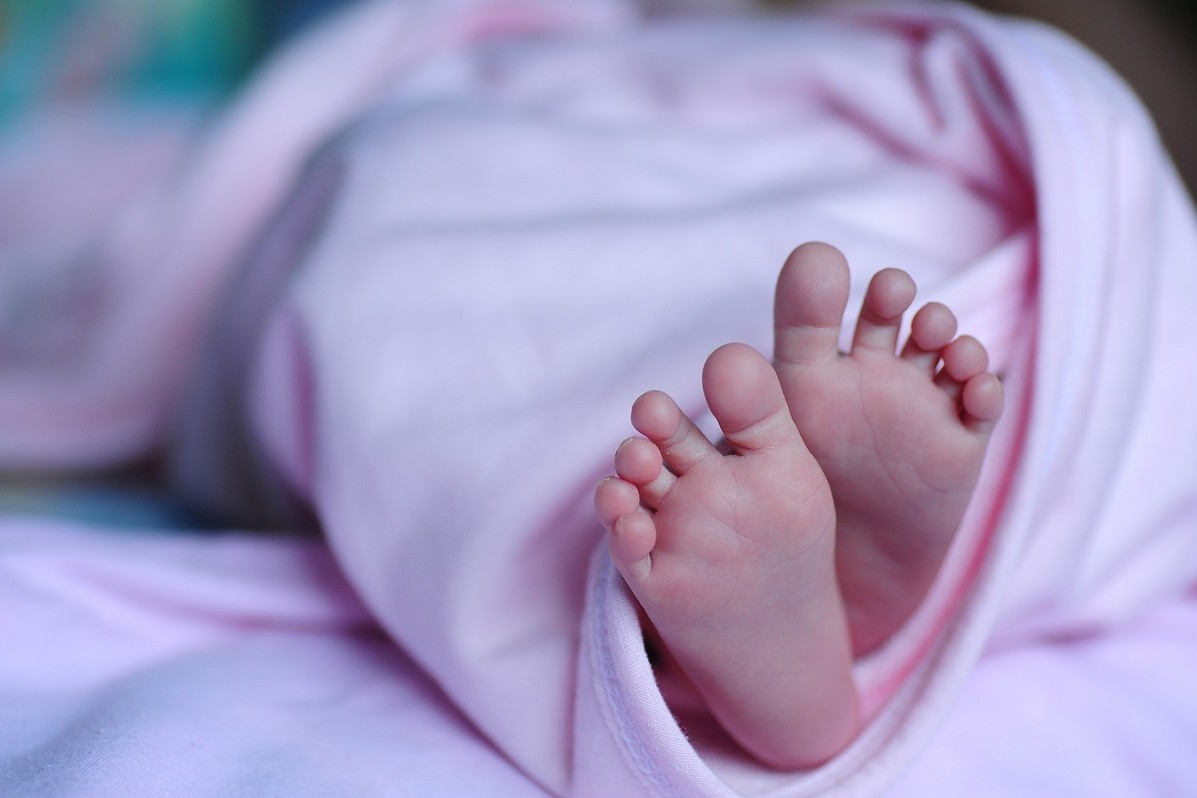 baby voetjes