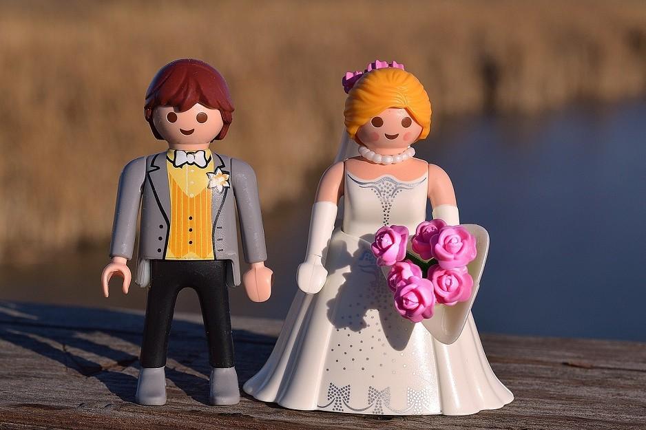 huwelijk lego