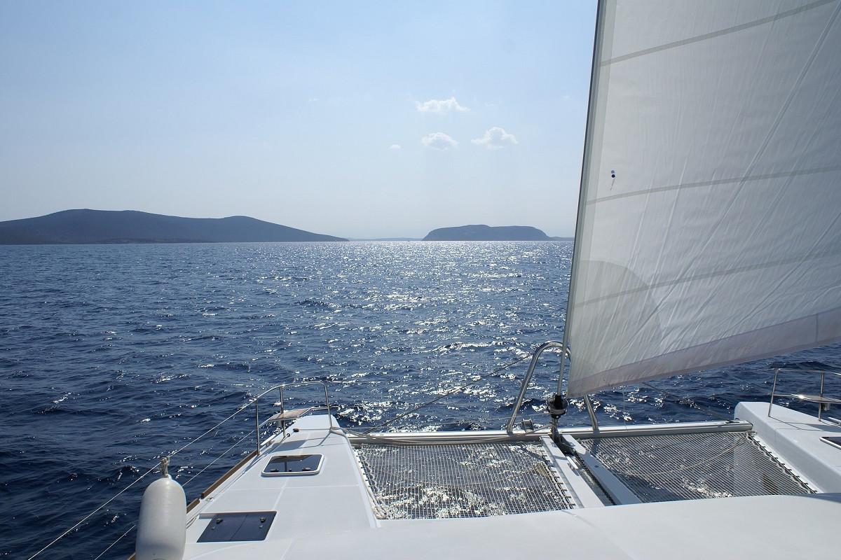 catamaran water