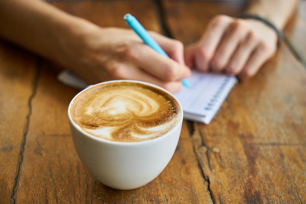boodschappenlijstje met koffie