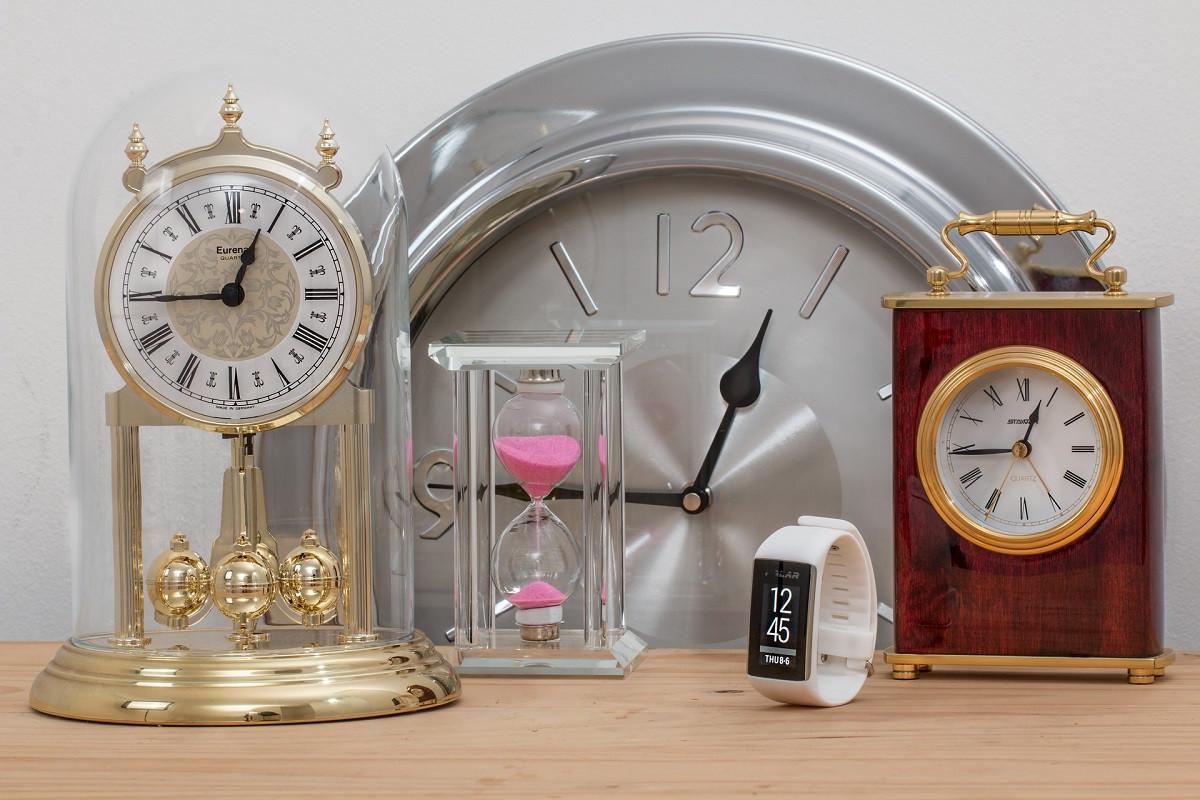 tijd voor tijd klokken