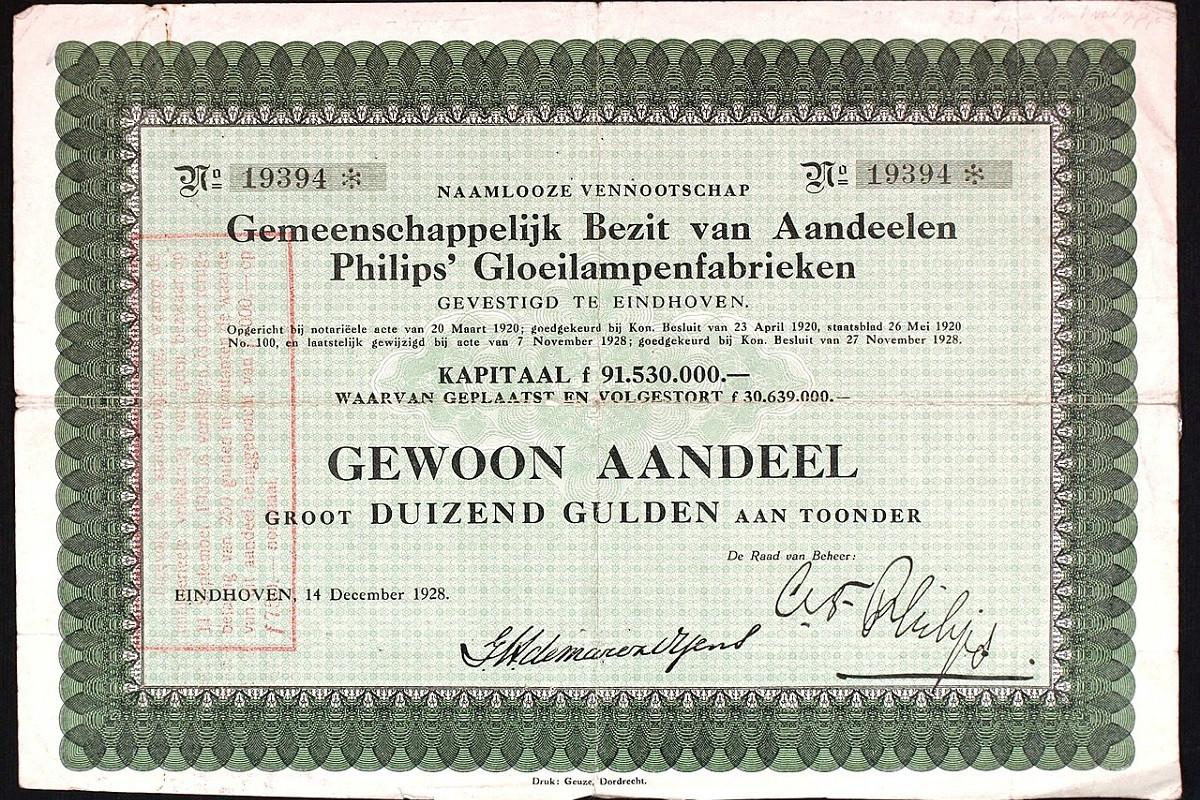 Philips aandeel