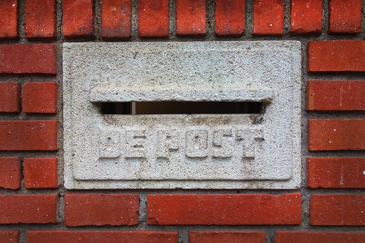 de post brievenbus
