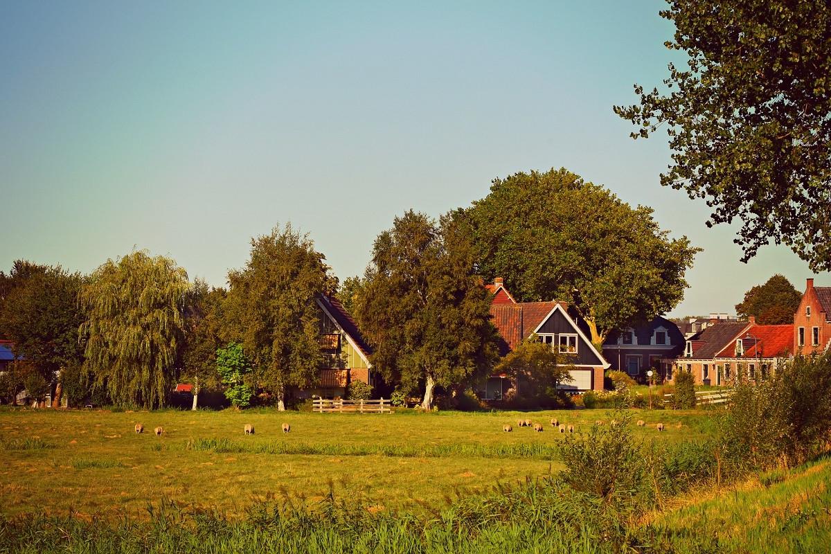 huizen platteland