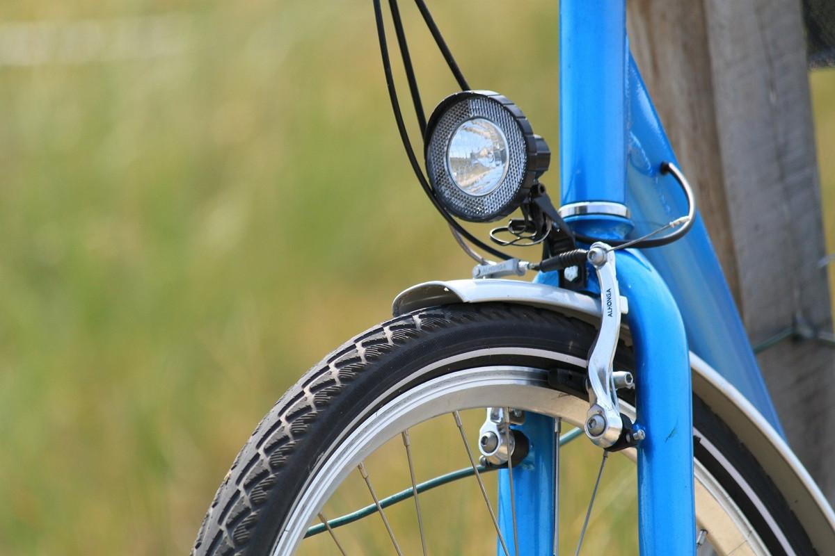 fiets voorkant