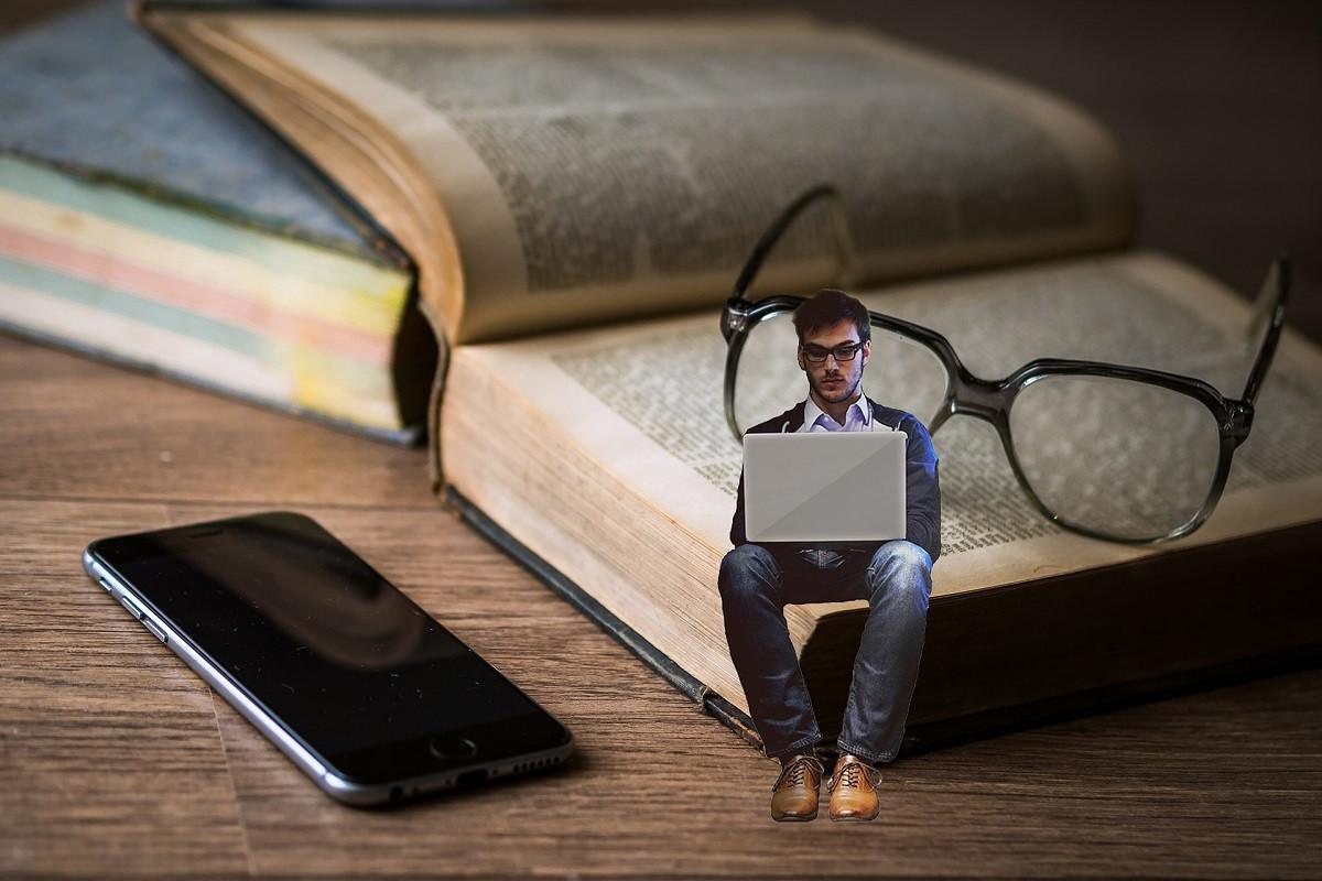 ondernemer klein op boek