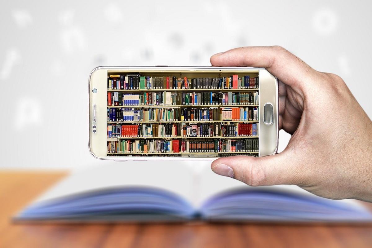 digitale uitgaven boekenkast