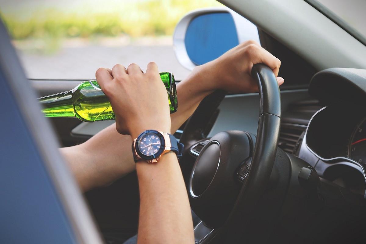 drinken achter stuur