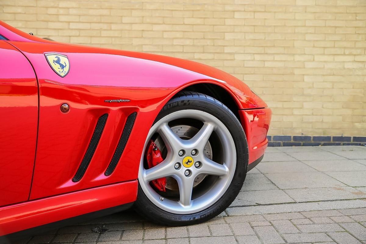Ferrari auto rood