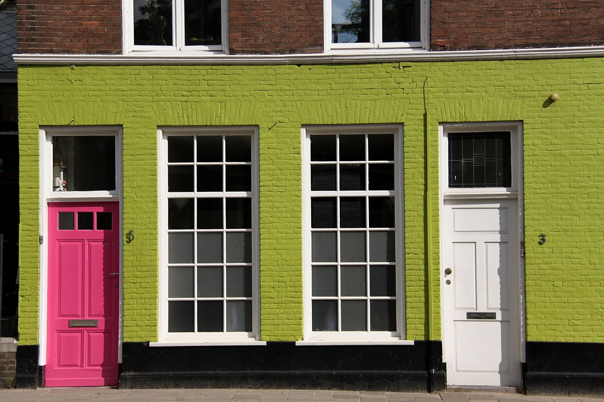 huis groen verkoop
